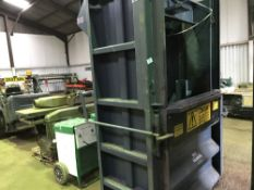 DICOM HEAVY DUTY WASTE BALER UNIT, DIRECT EX MAJOR COMPANY LIQUIDATION, REMOVED FROM A WORKING