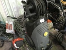 Karcher 3-phase power washer, little used, PLUS EXTENSION CABLES NO VAT ON HAMMER PRICE