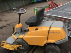 Stiga Villa President outfront 3ft cut mower...NO VAT ON HAMMER PRICE when tested was seen to run,