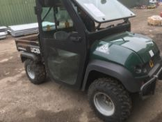 JCB WORKMAX UTILITY VEHICLE, 2442REC.HRS, REG: VX15 BFO When tested was seen to run and drive