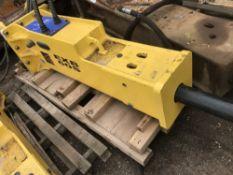 Abex EXB60S breaker, little used, fits 16-20tonne excavator, 100mm chisel