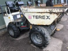 TEREX HIGH TIP DUMPER, YR2008, 2275REC.HRS, SN: SLBDRPOOE803FT275 When tested was seen to run and