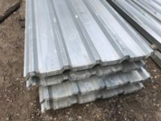 Pack of 50no. 12ft box profile galvanised roof sheets