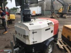 VB9 towed lighting tower set