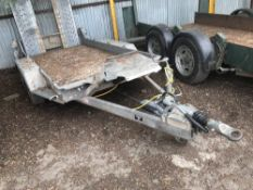 IFOR WILLIAMS GH94-3 TWIN WHEELED MINI DIGGER TRAILER YEAR 2010 SN:SCK600000A0581518