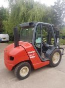 Manitou msi25d 2500 kgs diesel container spec forklift truck
