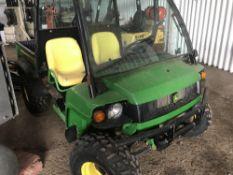John Deere 4wd Gator utility vehicle,