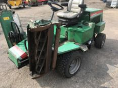 RANSOMES 213 TRIPLE MOWER.….sold under the Auctioneer's Margin Scheme, therefore NO VAT chargeable