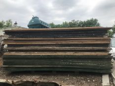 50NO APPROX PRE USED TIMBER PLYWOOD BOARD SHEETS