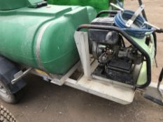 WESTERN WASHER BOWSER, COMES WITH YANMAR DIESEL ENGINED PUMP. WHEN TESTED WAS SEEN TO RUN. PUMP