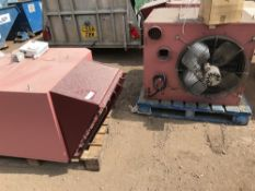 3NO REZNOR GAS POWERED HEATERS SOURCED FROM FACTORY DEMOLITION, NO VAT ON HAMMER PRICE