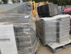 2 x Pallets of portable toilet parts