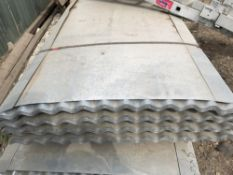 50no 12ft galvanised corrugated roof sheets