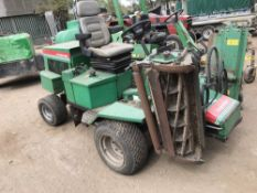 Ransomes 213 triple mower, SN: NU00607 WHEN TESTED WAS SEEN TO RUN AND DRIVE AND BLADES TURNED NO
