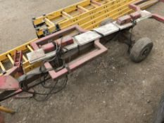 Towing dolly unit NO VAT ON HAMMER PRICE