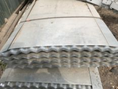 50no 10ft galvanised corrugated roof sheets
