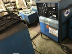 2NO MILLER SYNCROWAVE 300 WELDERS, DIRECT FROM COMPANY LIQUIDATION