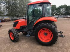 Kubota M6040 4wd Tractor, 64hp