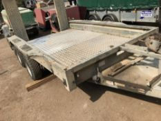 IFOR WILLIAMS GX106 PLANT TRAILER, YEAR 2004, SERIAL NUMBER: 4-81532