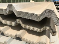 50no 12ft galvanised box profile roof sheets