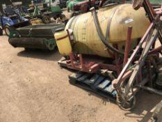 Hardi sprayer unit plus sand spreader to fit John Deere Pro Gator or similar