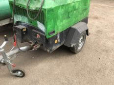 INGERSOLL RAND 726 COMPRESSOR YEAR 2011 SN:UN5726EFXBY109015 WHNE TESTEDW AS SEEN TO RUN AND MAKE