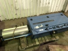 Airblast paint tin compactor unit sourced from company liquidation NO VAT ON HAMMER PRICE