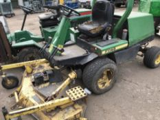JOHN DEERE F1145 OUTFRONT ROTARY MOWER SN:M01145A185627 WHEN TESTED WAS SEEN TO RUN AND DRIVE AND