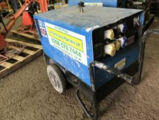 STEPHILL SSD6000 BARROW GENERATOR, 6KVA RATED. WHEN TESTED WAS SEEN RUNNING