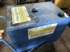 STEPHILL SSD6000 BARROW GENERATOR, 6KVA RATED. WHEN TESTED WAS SEEN TO TURN OVER BUT NOT STARTING