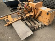 BOXER 44 KING LORRY WHEEL/TYRE REMOVING UNIT SOURCED FROM RETIREMENT