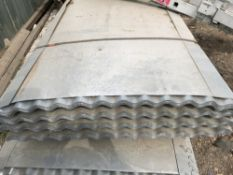 50no. 12ft galvanised corrugated roof sheets