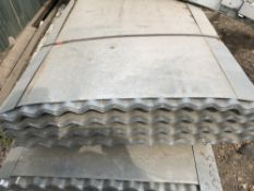 50no. 10ft galvanised corrugated roof sheets