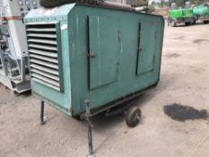 Towed generator set, FORD ENGINE. NO VAT ON HAMMER PRICE