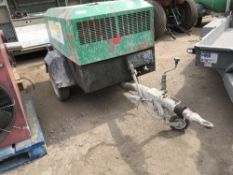 INGERSOLL RAND 741 COMPRESSOR, YEAR 2006. WHEN TESTED WAS SEEN TO RUN AND MAKE AIR