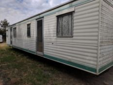 HAWAII 35FT X 12FT STATIC CARAVAN. 3 BEDROOMS, KITCHEN, BATHROOM WITH SHOWER AND TOILET. ALL