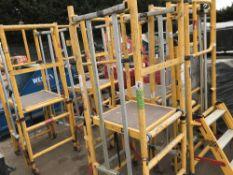 5 x UGO access podiums