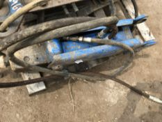 Hydraulic breaker on 45mm pins, suit 1.5 to 3tonne machine