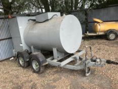 Oil transport tanker c/w pipework, originally used for transformer cooling oil change overs