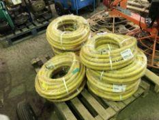 10no. Compressor air hoses, unused