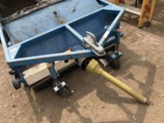 WESSEX SC4 PTO DRIVEN PADDOCK SWEEPER, SERIAL NUMBER:901724 ONLY PART OF THE PTO INCLUDED...AS