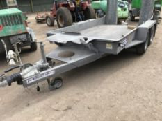 IFOR WILLIAMS GH1054BT MINI DIGGER PLANT TRAILER, YEAR 2015 SERIAL NUMBER: SCKD 00000FGO689772