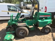 RANSOMES PARKWAY TRIPLE 4WD MOWER REG:SN03 HLM SN:WB001037 WHEN TESTED WAS SEEN TO DRIVE, STEER
