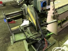 ASTRA MEP 300 METAL CUT OFF SAW Sourced directly from a small sized training centre, relocated for