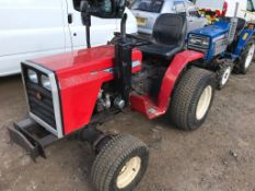MASSEY FERGUSON 1010 4WD COMPACT TRACTOR WHEN TESTED WAS SEEN TO DRIVE, STEER AND BRAKE