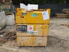 950L Diesel Tank With pump – Yellow LOT LOCATION: 2 Main Road, Sundridge, Nr Sevenoaks, Kent. TN14