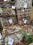 3 Pallets Buff Granite Blocks - 200 x 100 x 70 LOT LOCATION: TN14 6EP. OKEEFE STORAGE YARD, 2 Main
