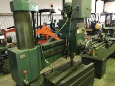 RICHARD GARRETT RD33 RADIAL ARM DRILL Sourced directly from a small sized training centre, relocated