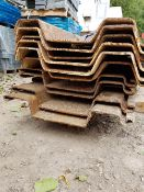 12No trench sheets at approximately 3.0m Long 5mm steel Thickness LOT LOCATION: 2 Main Road,