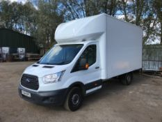 FORD TRANSIT 350 LUTON VAN, REG. YS64 EPC, TEST TO 26/10/18 WITH TAIL LIFT 115,850 REC MILES WHEN